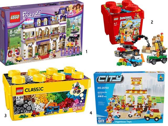3. Sélection de Lego - les carnets de Lucie-Rose