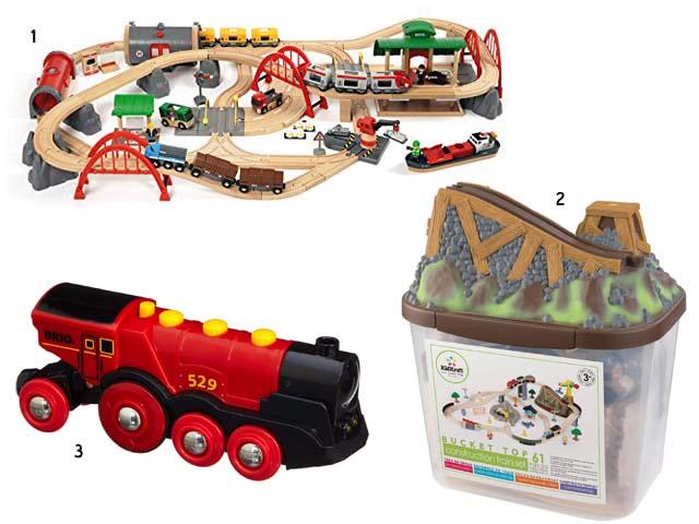 5. circuits de trains en bois - les carnets de Lucie-Rose