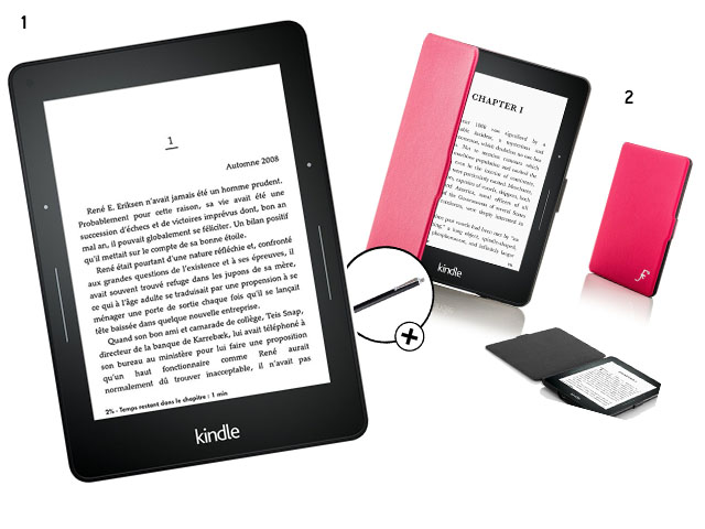 6. Amazon Kindle voyage