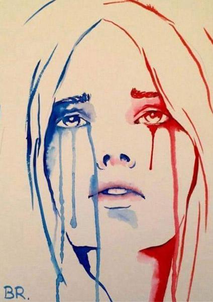 Marianne-en-pleurs