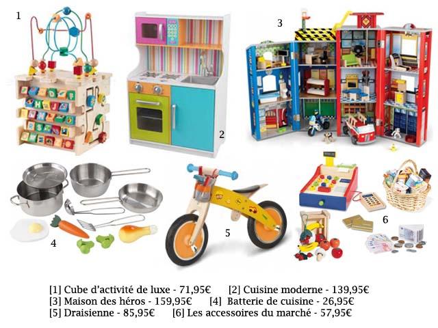 Sélection jouets en bois chez emob4kids