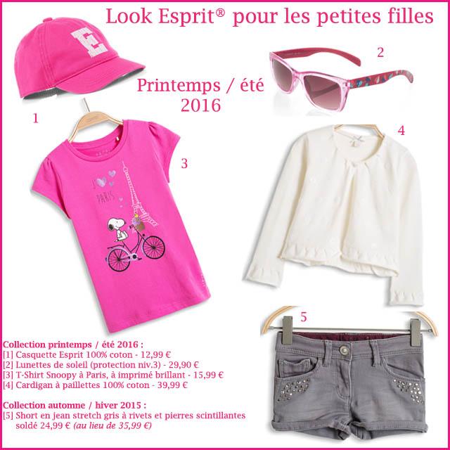 3. Look Esprit petites filles (c) les cahiers de Lucie-Rose