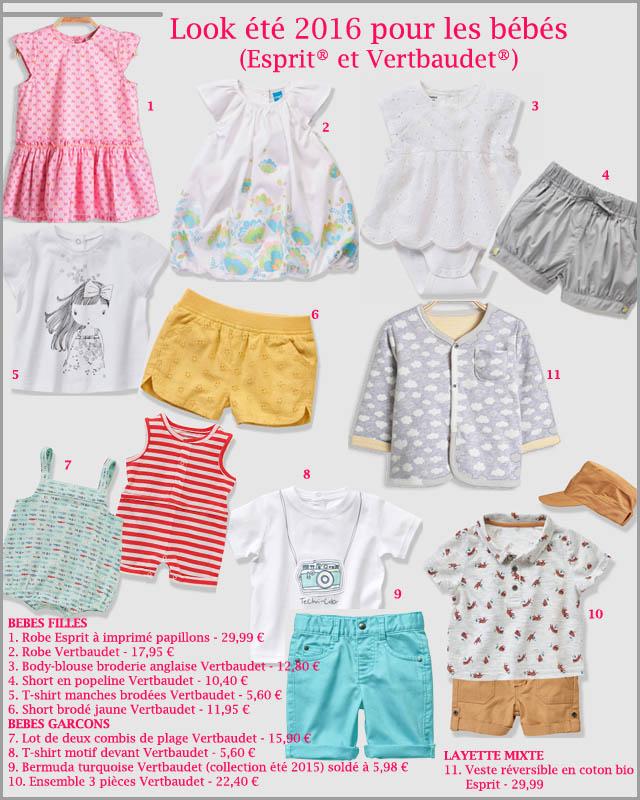5. Look bébés Esprit et Vertbaudet (c) les cahiers de Lucie-Rose