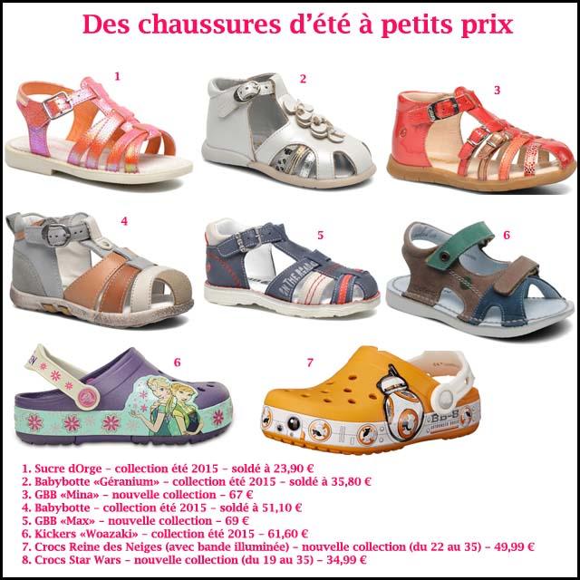 7. Chaussures été enfants (c) les cahiers de Lucie-Rose