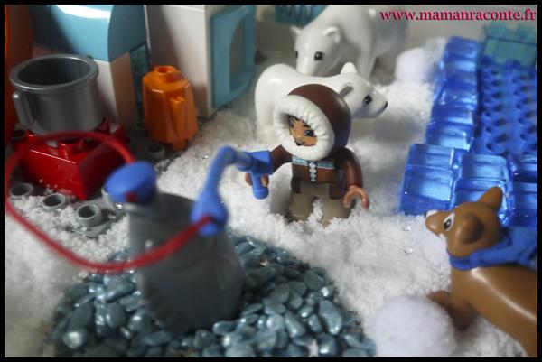 1. Les animaux de l'Arctique DUPLO © les cahiers de Lucie-Rose - mamanraconte