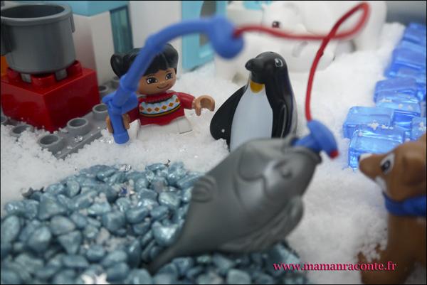 10. Les animaux de l'Arctique DUPLO © les cahiers de Lucie-Rose - mamanraconte
