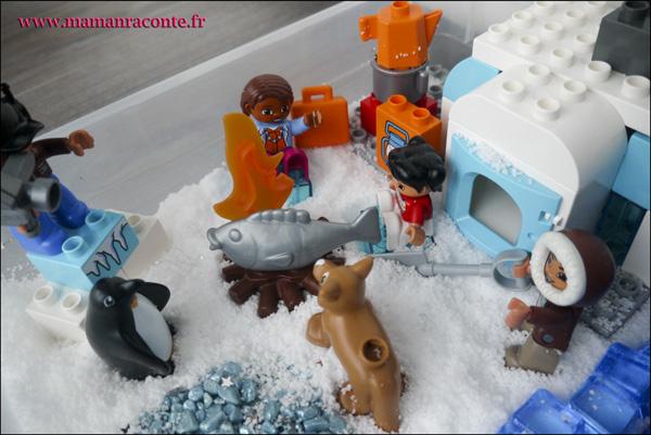 11. Les animaux de l'Arctique DUPLO © les cahiers de Lucie-Rose - mamanraconte