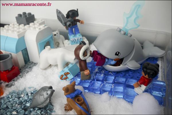 12. Les animaux de l'Arctique DUPLO © les cahiers de Lucie-Rose - mamanraconte