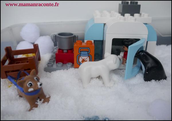 16. Les animaux de l'Arctique DUPLO © les cahiers de Lucie-Rose - mamanraconte
