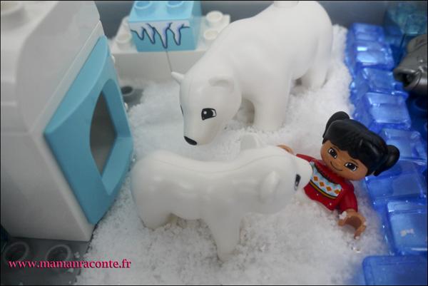 5. Les animaux de l'Arctique DUPLO © les cahiers de Lucie-Rose - mamanraconte