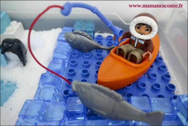 7. Les animaux de l'Arctique DUPLO © les cahiers de Lucie-Rose - mamanraconte