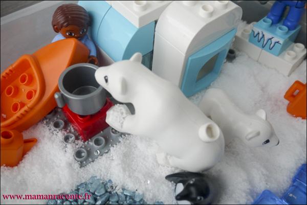 9. Les animaux de l'Arctique DUPLO © les cahiers de Lucie-Rose - mamanraconte