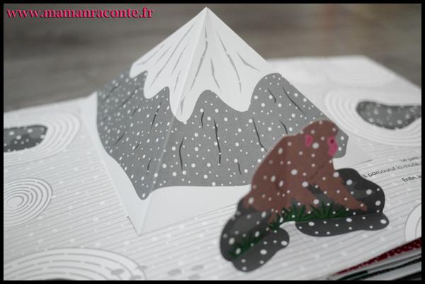 3. Un singe sous la neige - mamanraconte