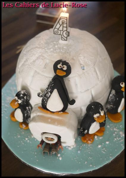 Gâteau igloo - les cahiers de Lucie-Rose 10