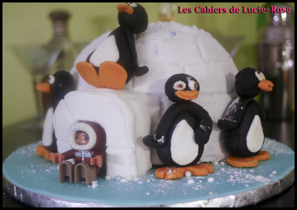 Gâteau igloo - les cahiers de Lucie-Rose 8