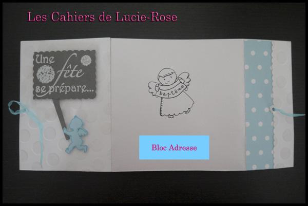 Faire-part de baptême scrapbooking (c) Les Cahiers de Lucie-Rose 10