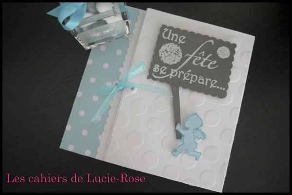Faire-part de baptême scrapbooking (c) Les Cahiers de Lucie-Rose 11