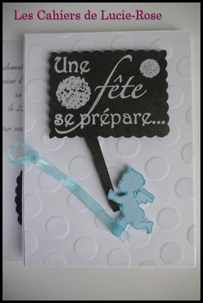 Faire-part de baptême scrapbooking (c) Les Cahiers de Lucie-Rose 7