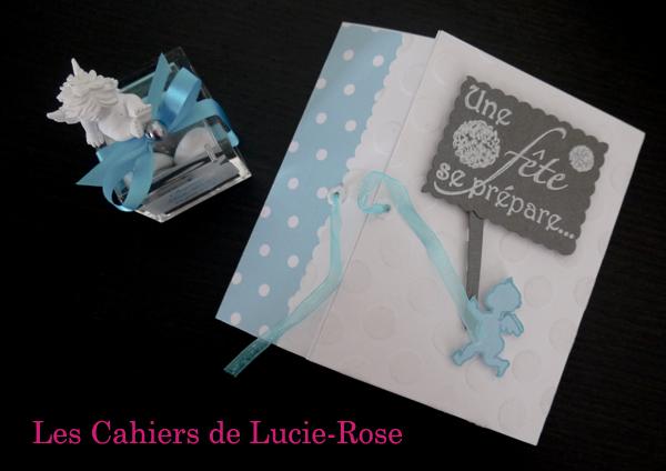 Faire-part de baptême scrapbooking (c) Les Cahiers de Lucie-Rose1