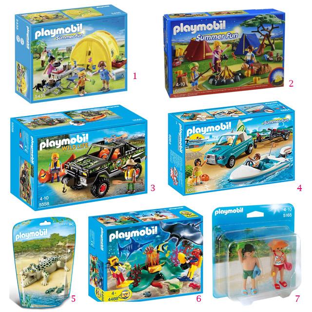1. Sélection Playmobil - jouets de vacances (c) les cahiers de Lucie-Rose