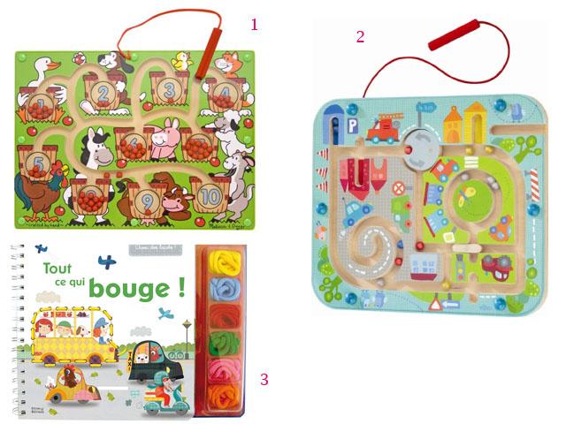 2. Sélection motricité fine - jouets de vacances (c) les cahiers de Lucie-Rose