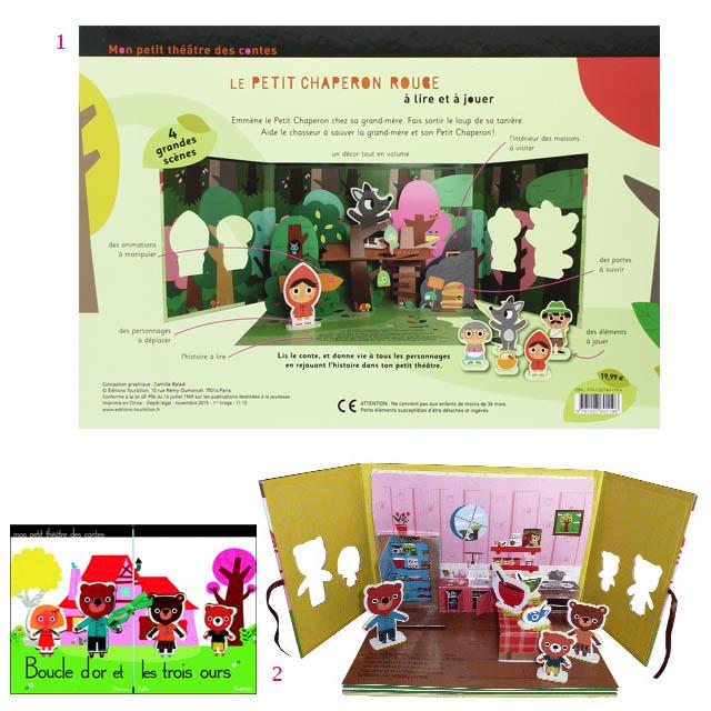 3. Sélection livres théâtre - jouets de vacances (c) les cahiers de Lucie-Rose