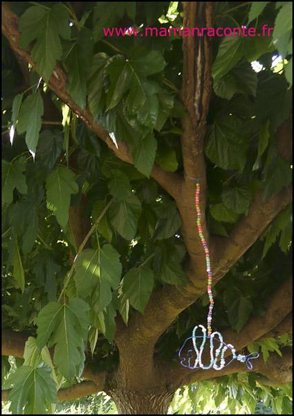 Poisson en perles et fil de fer (c) les cahiers de Lucie-Rose 6