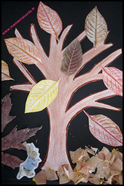 9-bricolage-arbre-dautomne-et-ses-dernieres-feuilles