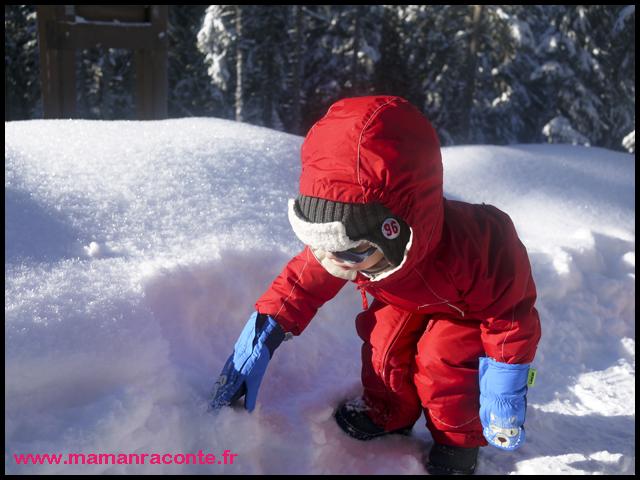 3. Lutin dans la neige (c) Les Cahiers de Lucie-Rose