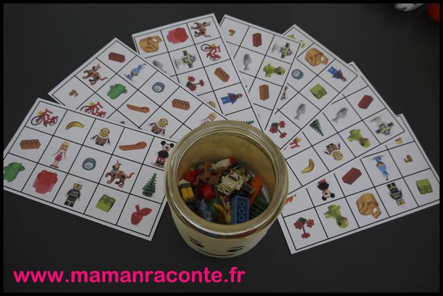 20. Loto anniversaire Lego - les cahiers de Lucie-Rose