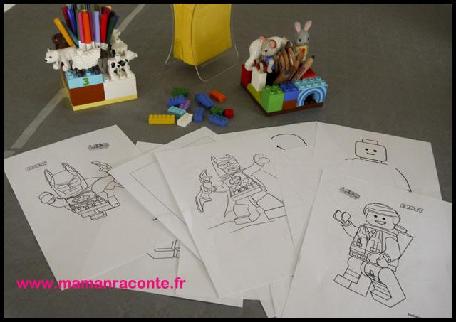 22. jeux anniversaire Lego - les cahiers de Lucie-Rose