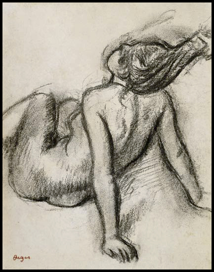 Peinture nu Degas - chirurgie esthétique