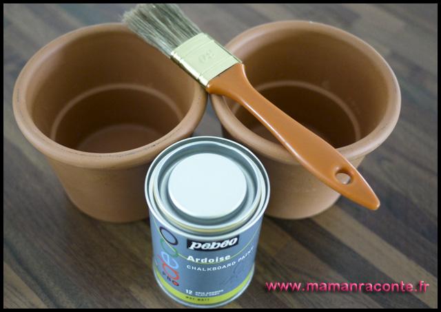 3. Pots de fleurs customisés pour la maîtresse (c) Les cahiers de Lucie-Rose