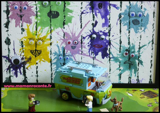 Bricolage enfants monstres Halloween rigolos (c) les-cahiers-de-lucie-rose - photo 1