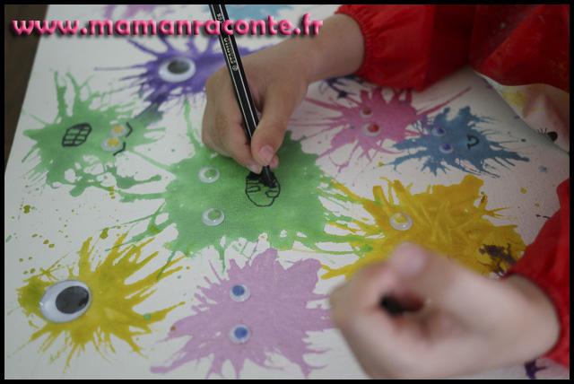 Bricolage enfants monstres Halloween rigolos (c) les-cahiers-de-lucie-rose - photo 8