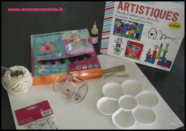 Bricolage enfants monstres - matériel (c) les-cahiers-de-lucie-rose - photo 2