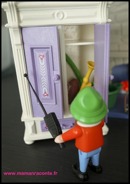 9. Calendrier avent maison Père noël Playmobil (c) Les Cahiers de Lucie-Rose