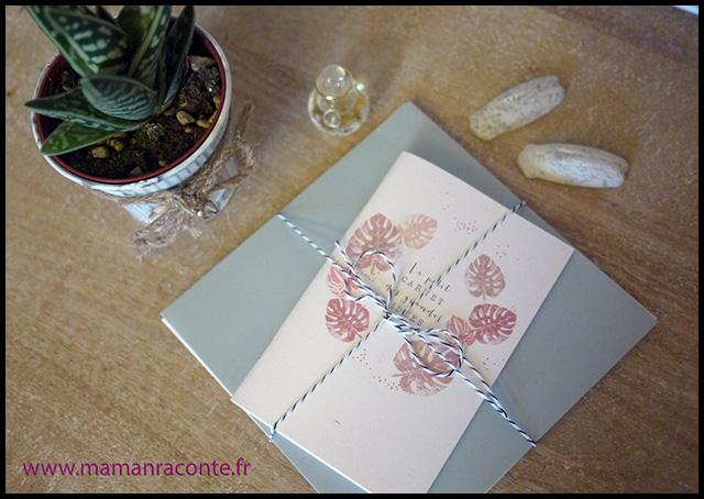 1. Carton invitation anniversaire enfant - maman raconte