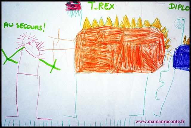 2. dessin enfant - maman raconte