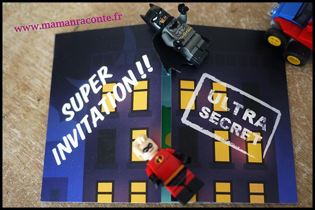 9. Carton invitation anniversaire enfant - maman raconte