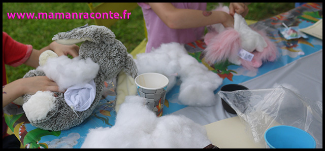 30. atelier doudou mon teaddy bear - anniversaire enfants