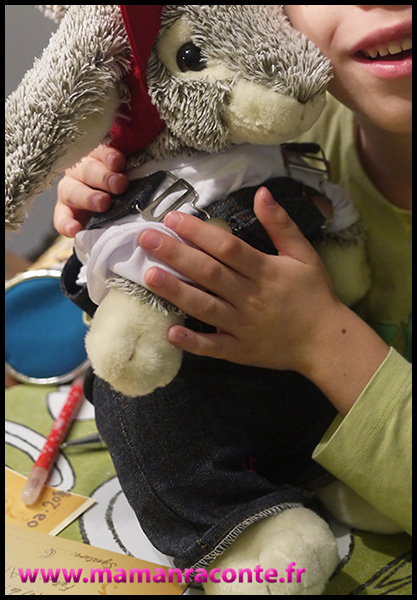 36. doudou lapin mon teaddy bear - anniversaire enfants