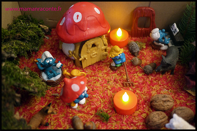 11. Bac sensoriel de l'automne - la forêt enchanté (c) Les cahiers de Lucie-Rose