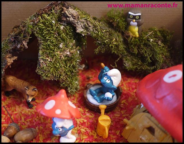12. Bac sensoriel de l'automne - la forêt enchanté (c) Les cahiers de Lucie-Rose