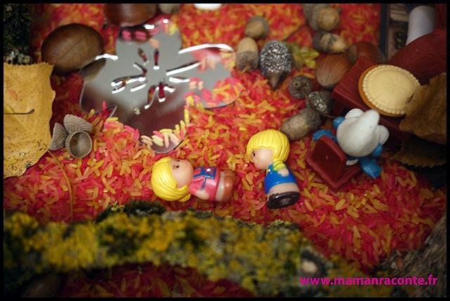 13. Bac sensoriel de l'automne - la forêt enchanté (c) Les cahiers de Lucie-Rose