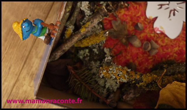 18. Bac sensoriel de l'automne - la forêt enchanté (c) Les cahiers de Lucie-Rose