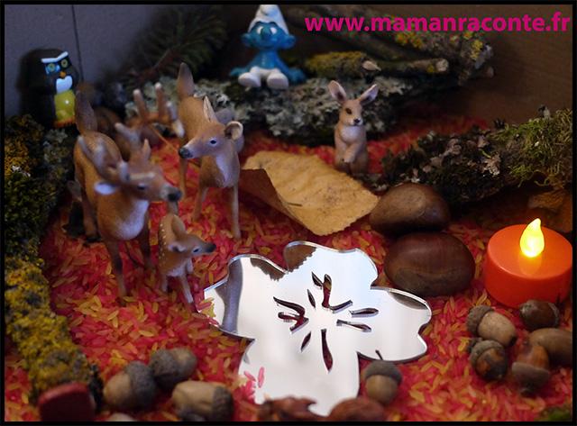 8. Bac sensoriel de l'automne - la forêt enchanté (c) Les cahiers de Lucie-Rose