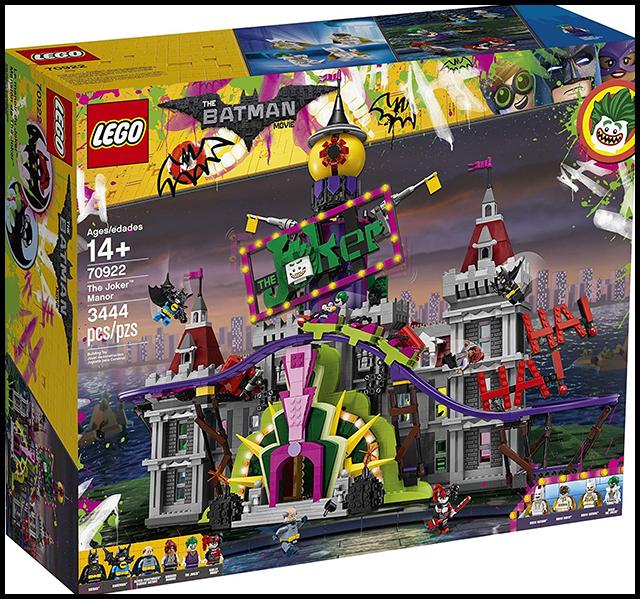 1. Lego Batman Movie - le manoir de Joker 70922 - liste noel - 6 ans