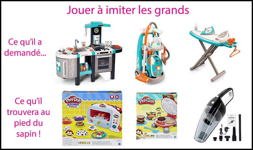 Sélection de jouets pour imiter les grands - wishlist noel - 6 ans - mamanraconte