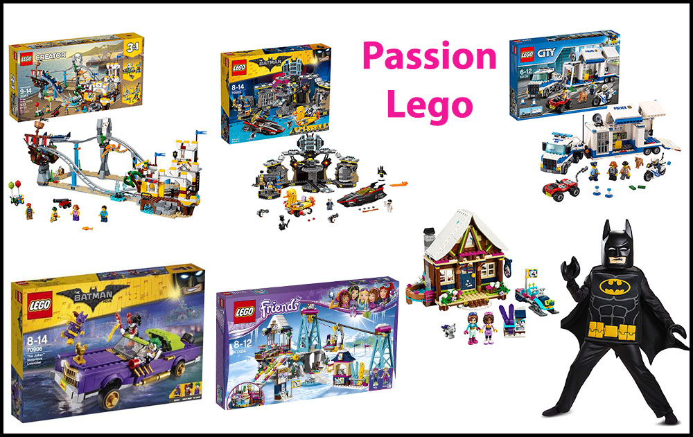 Sets LEGO batman et Lego Friends - wishlist noel - 6 ans - mamanraconte